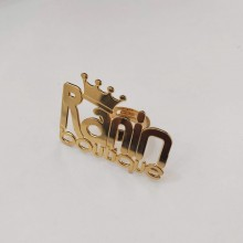 טבעת לוגו גדולה בעיצוב אישי (עבור מכון מניקור ולק ג'ל)