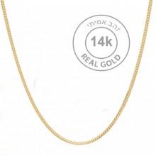 שרשרת זהב 14K לאישה