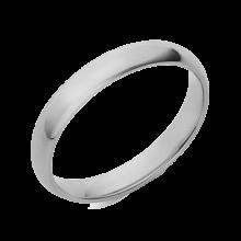 טבעת כסף חלקה- טבעת נישואין