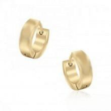 עגילי חישוק  קטנים בציפוי זהב