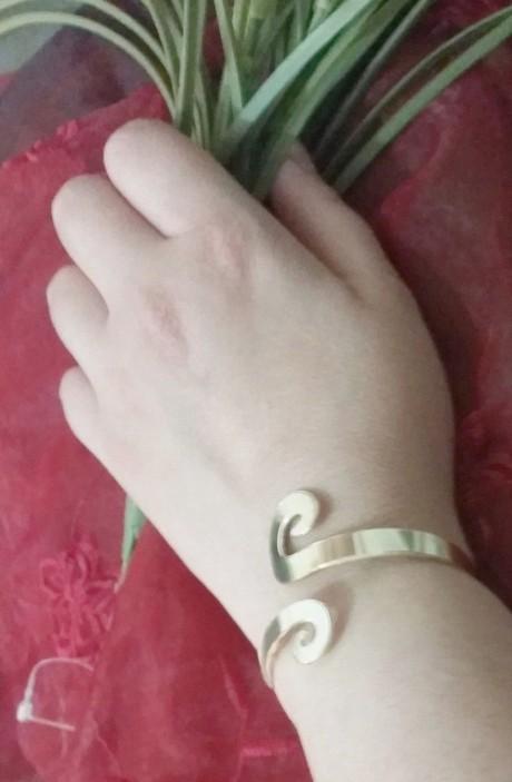 צמיד זהב לאישה