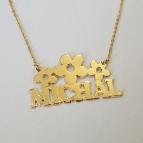 שרשרת זהב בעיצוב אישי